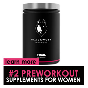 Blackwolf workout trail preworkout supplements for women