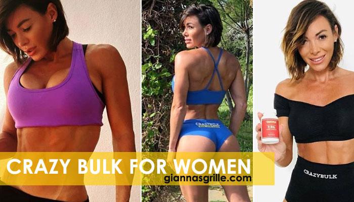 Crazy Bulk legal steroids for women