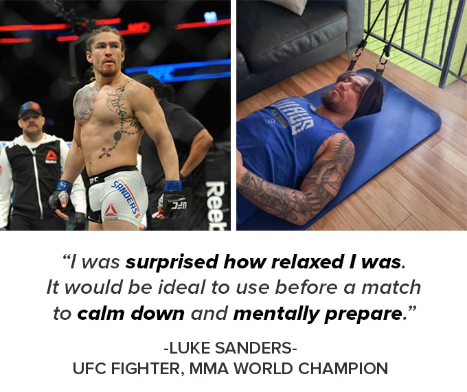 UFC Fighter Luke Sanders Endorsed The Neck Hammock