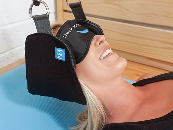 The Neck Hammock Portable Cervical Traction Device