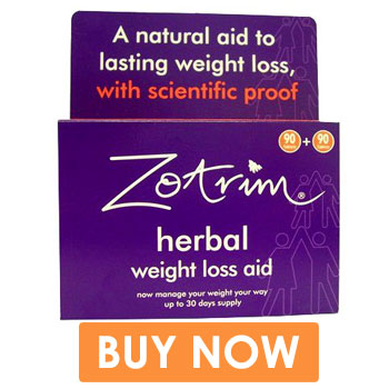 Lose weight with Zotrim Weight Loss pills