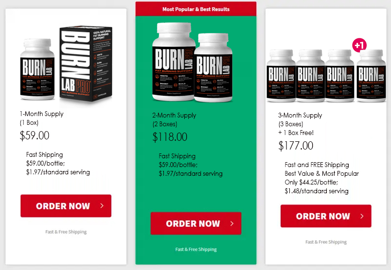 buy Burn lab pro today