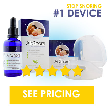 Airsnore best Anti-snoring mouthpiece device