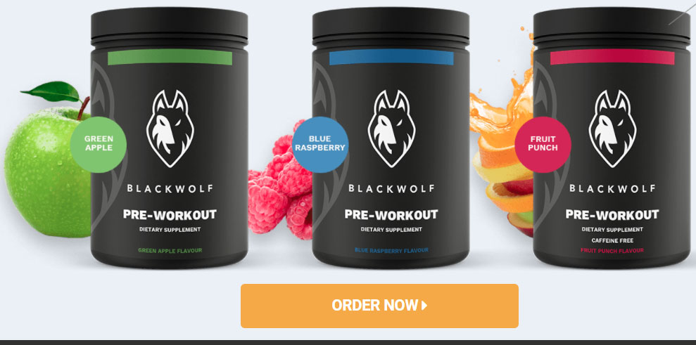 Buy Blackwolf workout supplements